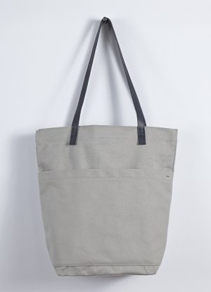 Heavy Canvas Market Bag in Putty