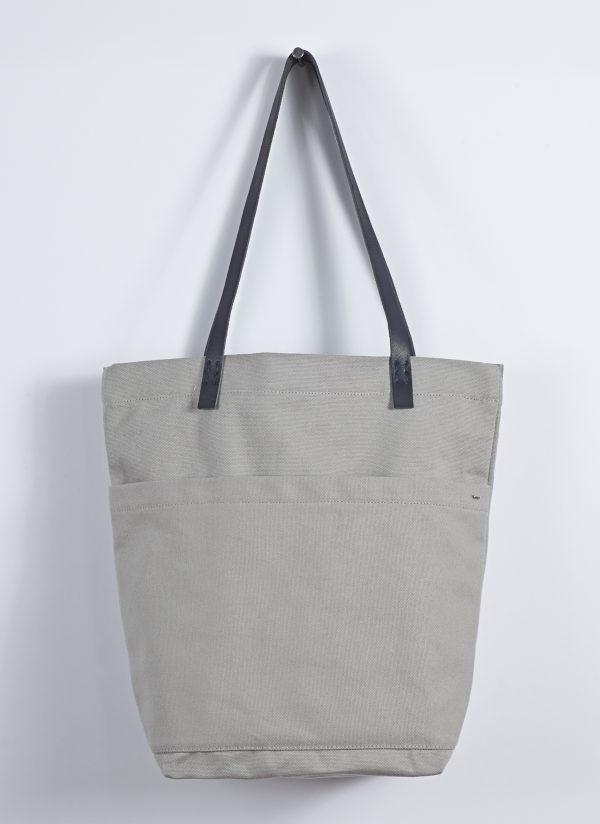 Heavy Canvas Market Bag in Putty