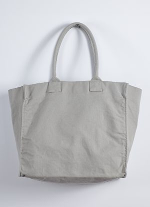 Washed Relaxed Heavy Canvas Tote in Putty