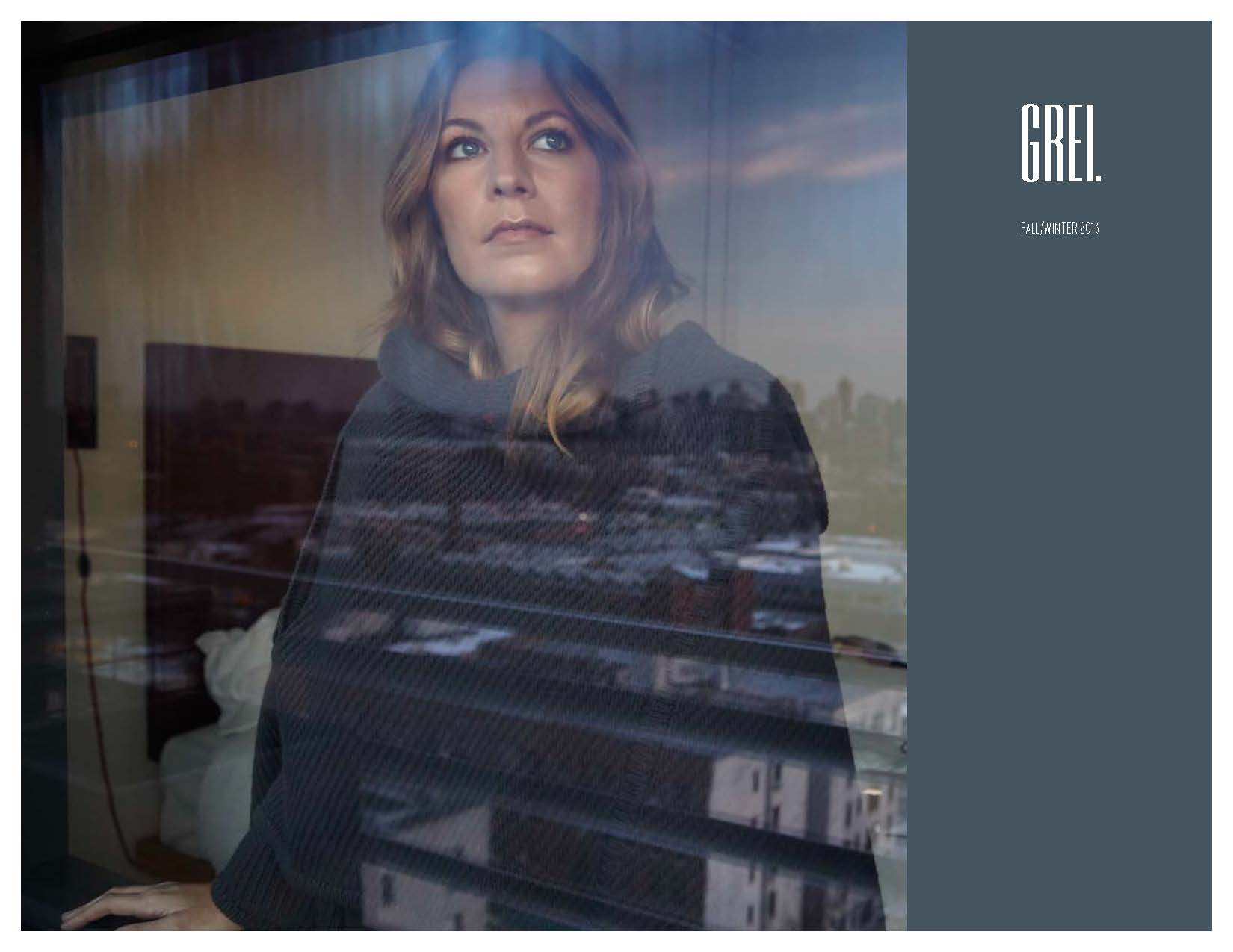 GREI New York Womens Fall and Winter Lookbook