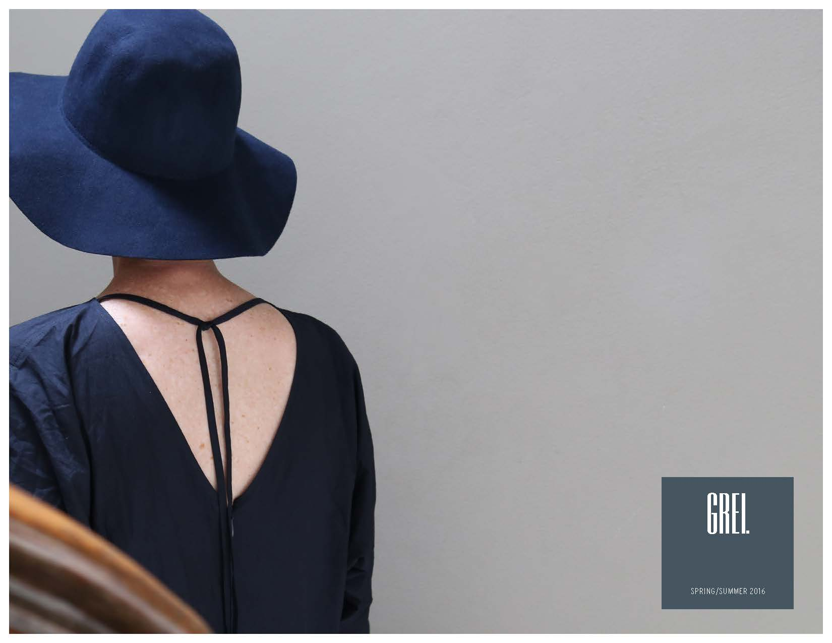 GREI New York Womens Spring and Summer Lookbook 2016