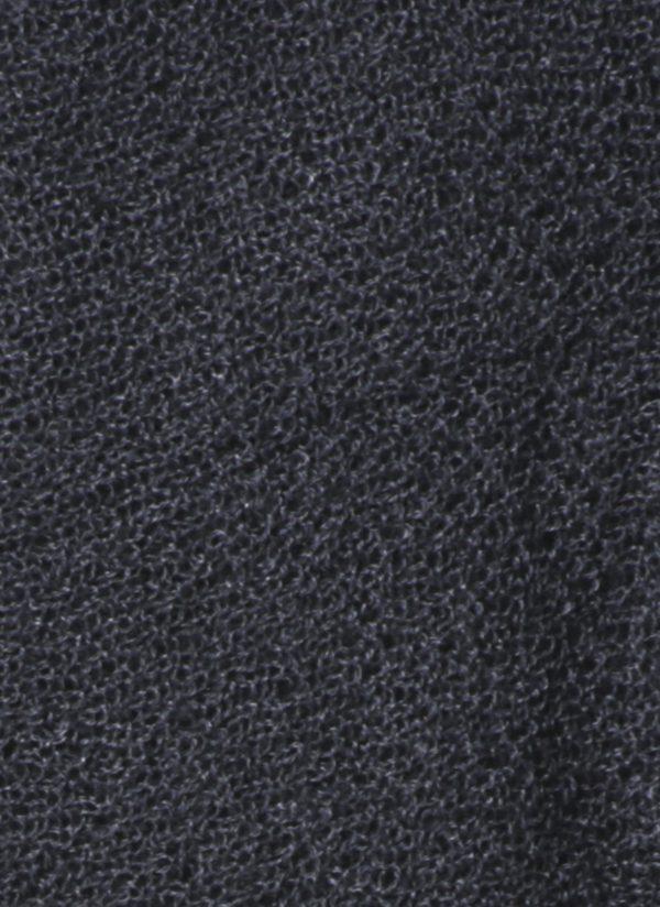 Silk Cashmere Circular Scarf in Charcoal