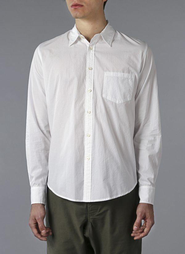 White Crinkle Shirt